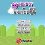 Hippos vs Rhinos Screenshot