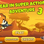 Bear in Super Action Adventure 3 Screenshot