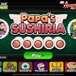 Papa's Sushiria Screenshot