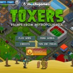 Toxers: Escape from Metropolis Isle Screenshot