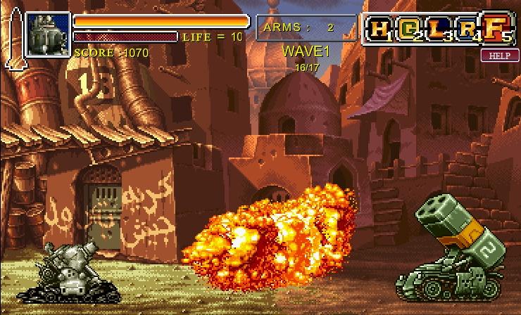 Metal Slug Online Free Game English