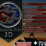 Dragon Fist 3D Screenshot