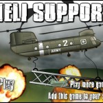 Heli Support Screenshot