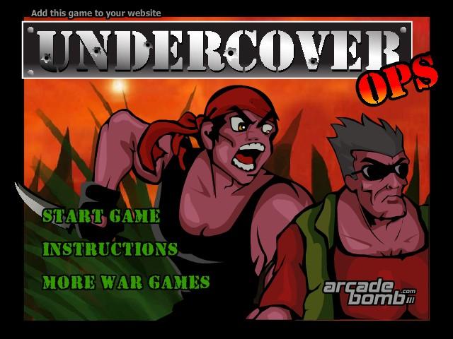 free www games online undercover ops walkthrough
