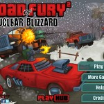 Road of Fury 2: Nuclear Blizzard Screenshot
