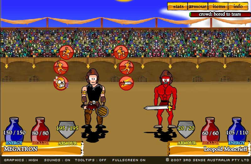 swords and sandals 2 full version hacked free