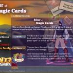 Ether of Magic Cards Screenshot