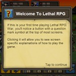 Lethal RPG: War Begins Screenshot