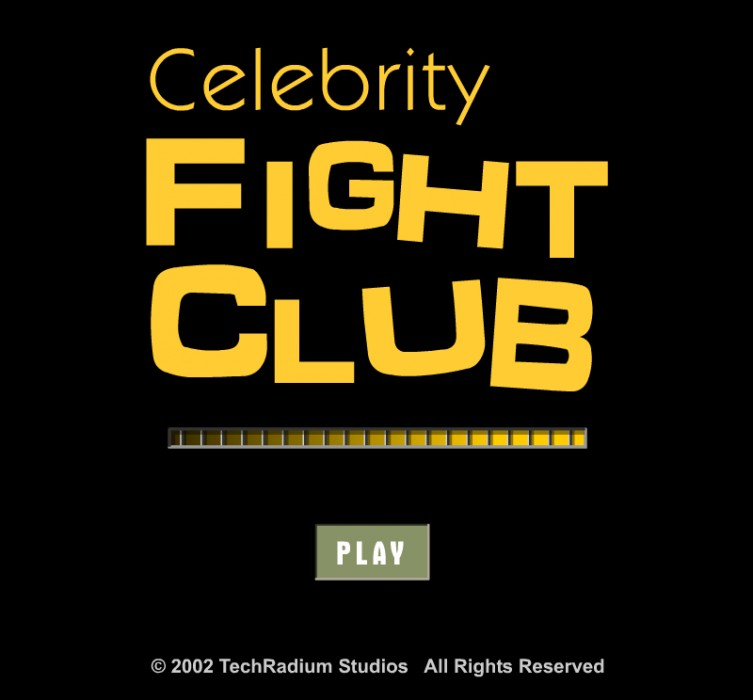 Celebrity Fight Club Game - Play Free Online - Flash Arcade