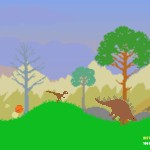 Dino Run: Marathon Of Doom Screenshot