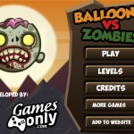 Balloons vs Zombies 2 Screenshot