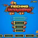 Techno Invaders Screenshot