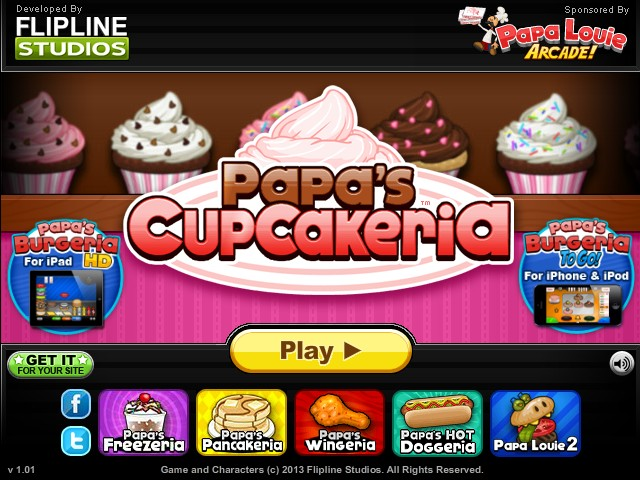 Papa s cupcakeria hacked cheats hacked free games