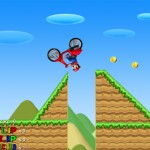 Mario Bros Motobike Screenshot