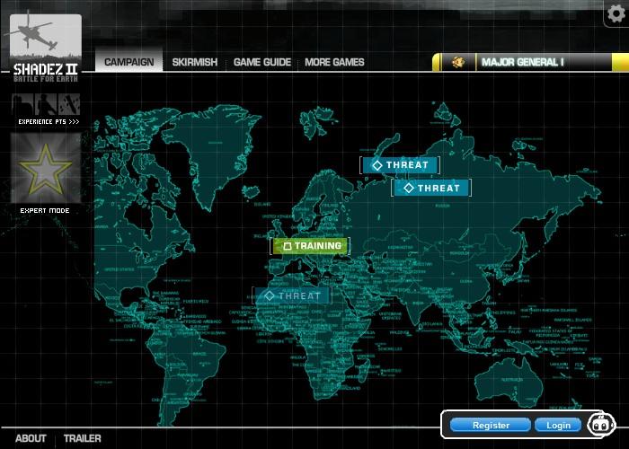 Shadez 2: Battle for Earth Screenshot
