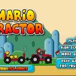 Mario Tractor Screenshot
