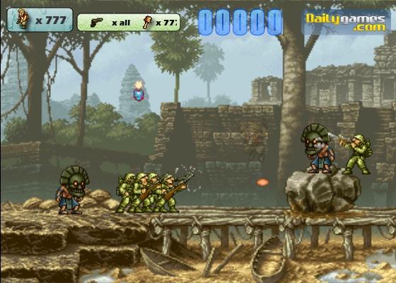 Free Online Games Metal Slug Brutal 4