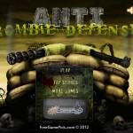 Anti Zombie Defense Screenshot