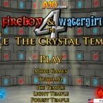 Fireboy and Watergirl 4: Crystal Temple Screenshot
