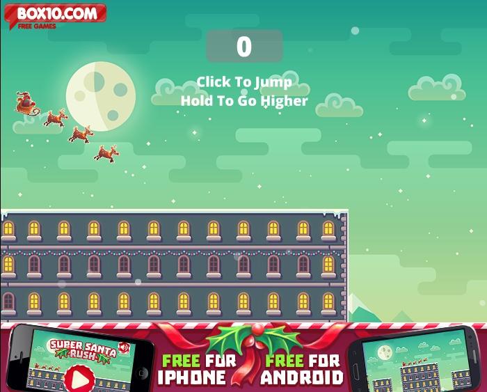 Super Santa Rush Hacked Cheats Hacked Free Games