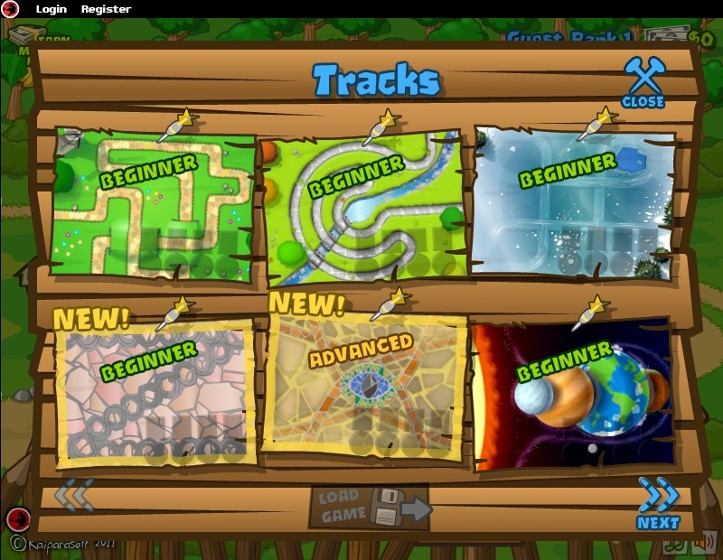 free online bloons tower defense 5