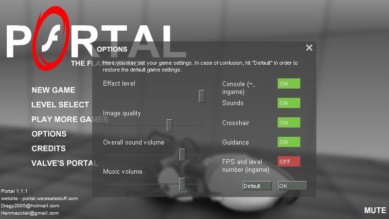 Portal The Flash Version - Arcade Prehacks