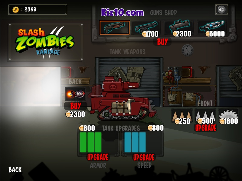 slash zombies rampage 2 hacked cheats hacked free games