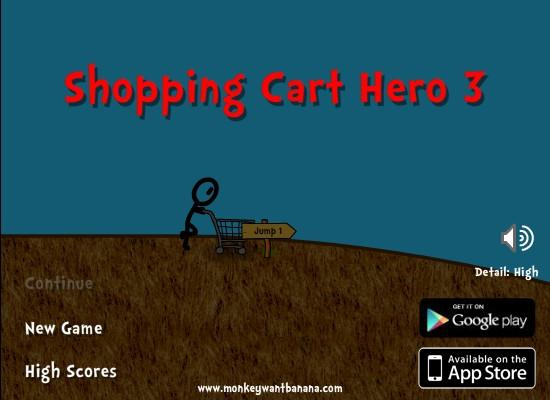 Shopping cart hero 3 hacked cheats hacked free games