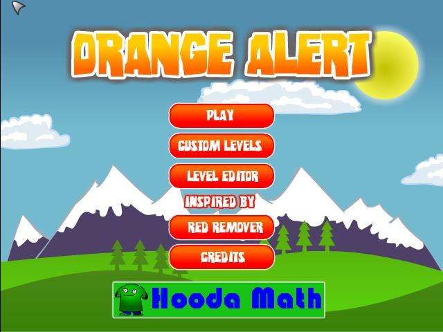 Orange Alert Screenshot ...