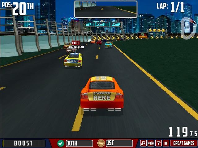 american racing 2 game online