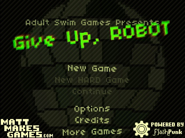 Give Up, Robot 2 Unblocked Game