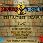 FireBoy and WaterGirl 2: In The Light Temple Screenshot