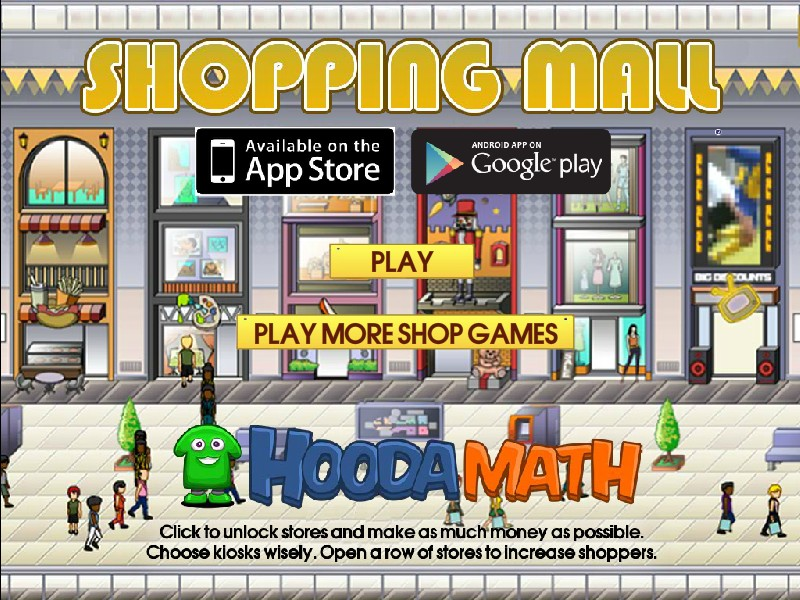 shopping free games