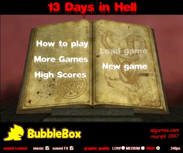 13 days in hell hacked cheats hacked free games