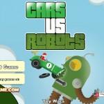 Cars vs Robots Screenshot
