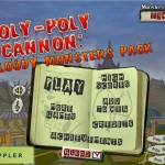 Roly-Poly Cannon: Bloody Monsters Pack Screenshot