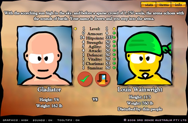 gladiator games online hacked