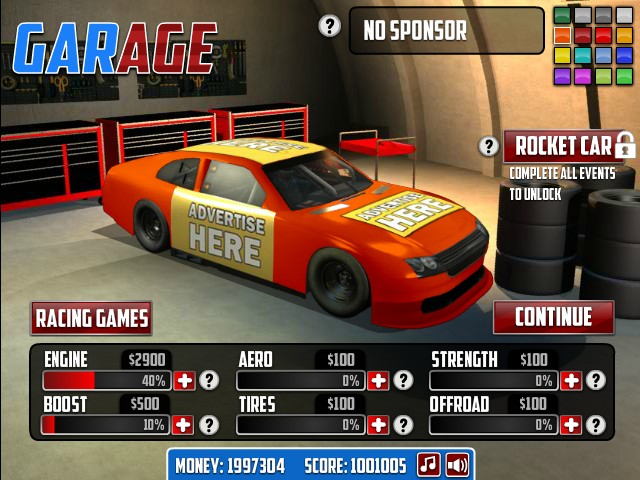 games car racing online