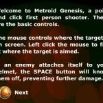 Metroid: Genesis Screenshot