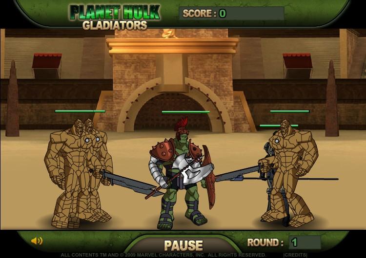 planet hulk gladiators hacked cheats hacked free games