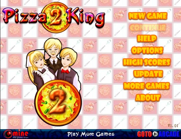 pizza king game