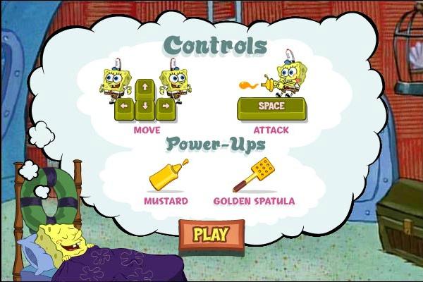 spongebob games patty panic