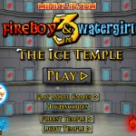 Fireboy and Watergirl 3: In The Ice Temple Screenshot