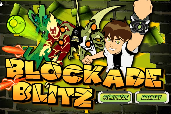 Ben 10 Blockade Blitz Hacked