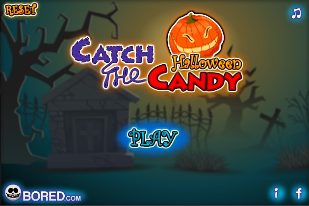 catch the candy halloween screenshot