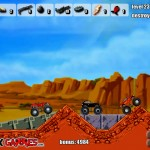 Monster Trucks Attack Screenshot