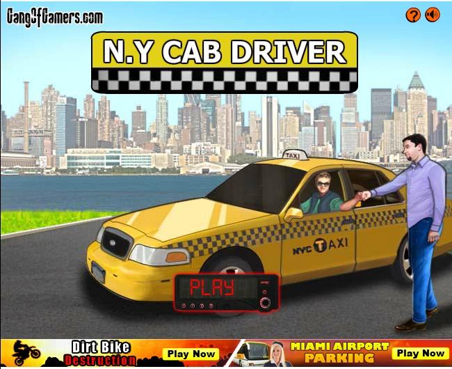Играть cab driver