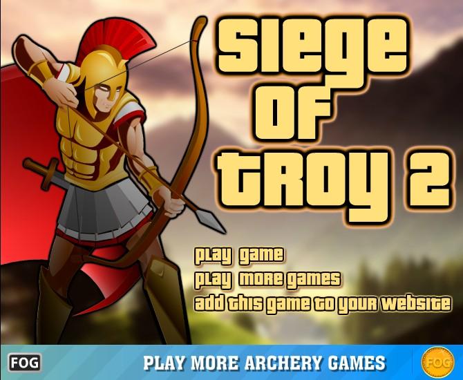 بازی آنلاین فلش Siege Of Troy 2