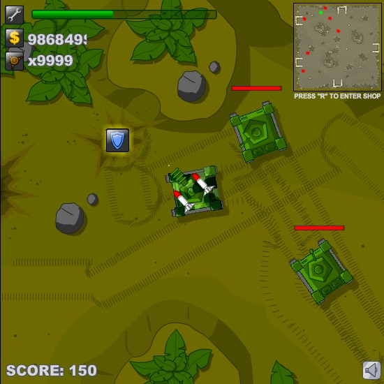 Tank Destroyer Hacked (Cheats) - Hacked Free Games