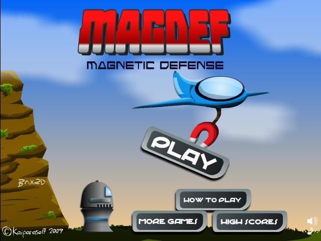 Magnetic Defense Screenshot